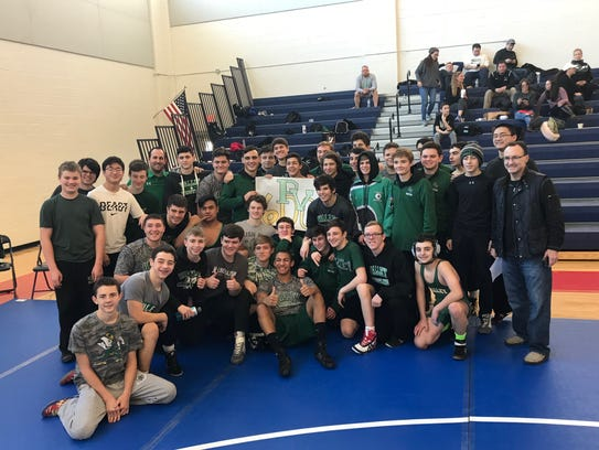 Pascack Valley's wrestling team earned the 600th win