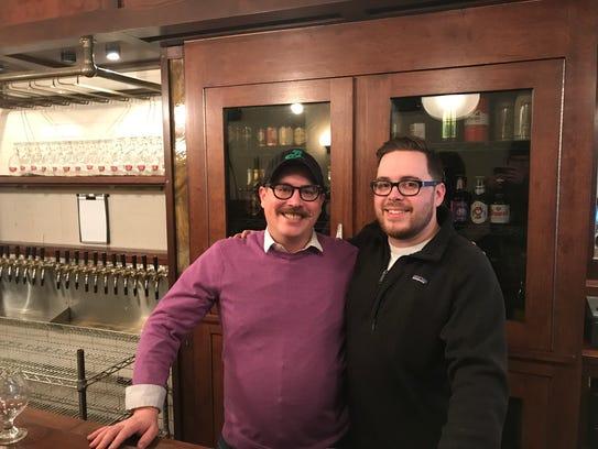Derrick DePorter, owner and chef of the new Unter Biergarten,