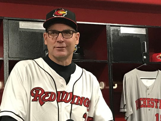 Former major leaguer Joel Skinner will manage the Rochester Red Wings in 2018.