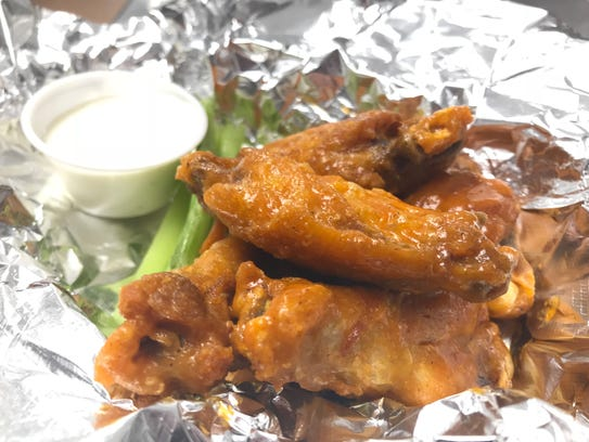 The hot sauce on Amici's chicken wings is so popular