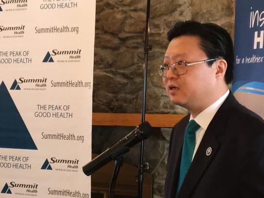 Wonro Lee, CEO of JG Business Link International, speaks