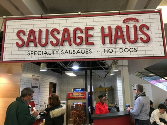 Sausage Haus is new at Cobo Center for this year's Detroit auto show