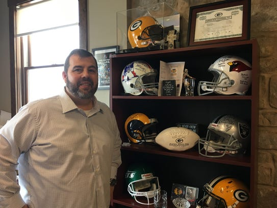 Titletown Cheese Trading Co. President Jerry Haines