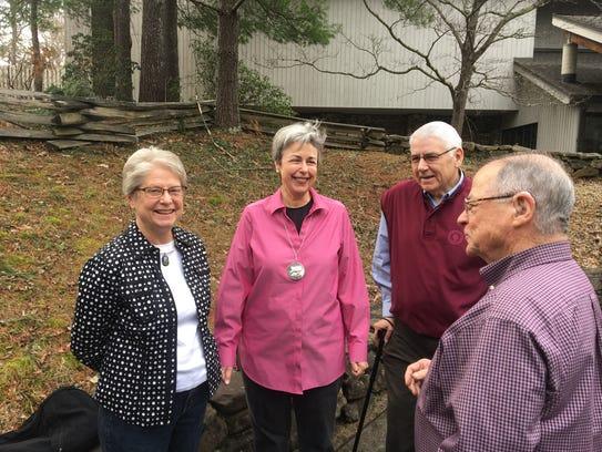 Karen Crutchfield, Mary Anne Settle, Charles Settle