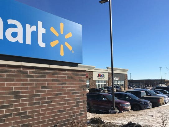 The Walmart store at the corner of 85th Street and