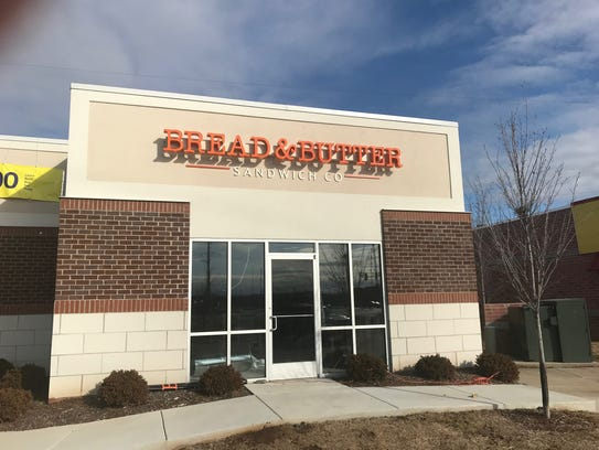 Bread & Butter Sandwich Company is an original concept that is located at 2309 Mercury Blvd. in Murfreesboro, near the intersection of Rutherford Boulevard.