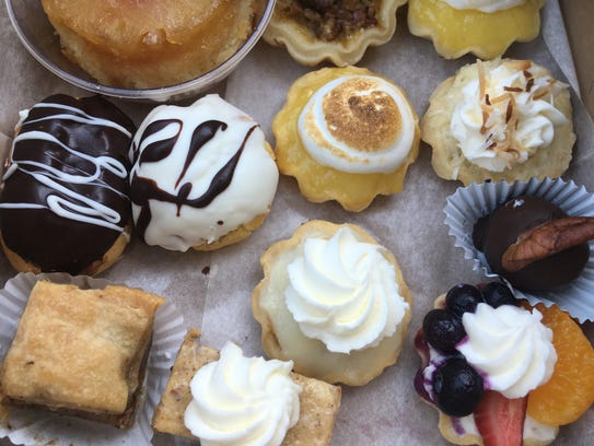Vic's Pastries sells an array of mini pastries, alongside