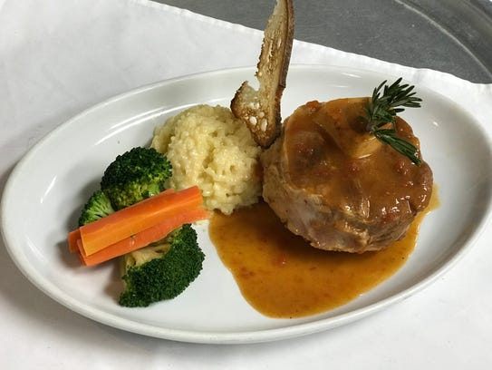 An order of Veal Osso Buco at LaStrada Ristorante in