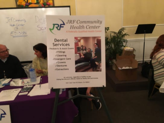 The JRF Community Health Center provided free eye exams