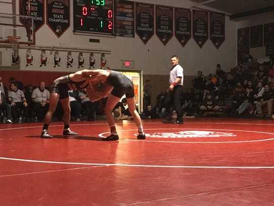 In the finals of the 138-pound class at Saturday's