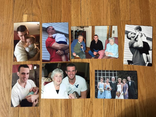 File photos of Brian Rossi of Teaneck, who was killed