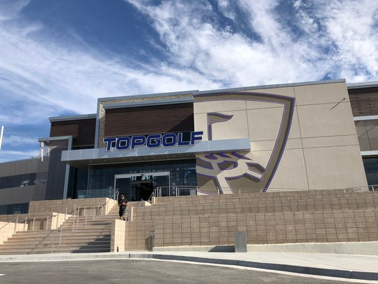 Topgolf El Paso opened Friday morning on the West Side.