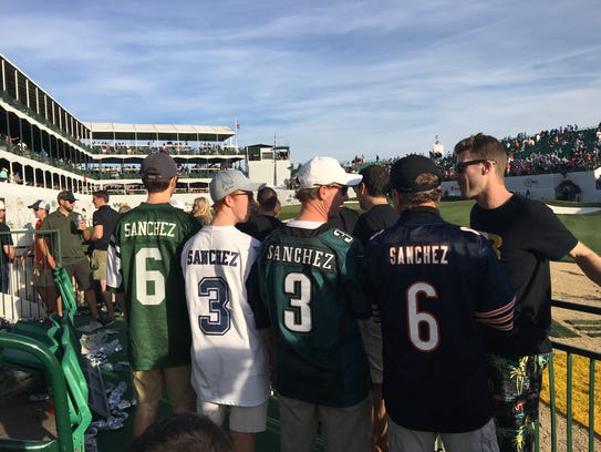 Mark Sanchez apparently has plenty of support in the