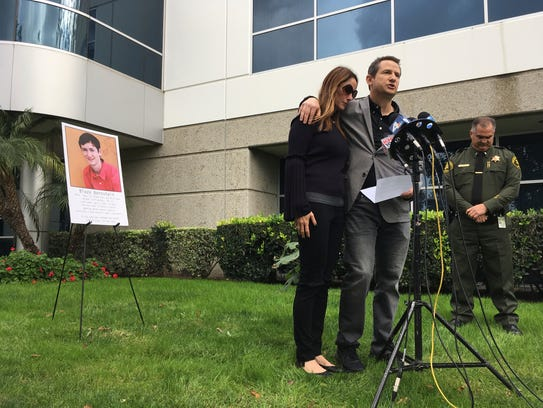 Gideon and Jeanne Bernstein, parents of then-missing