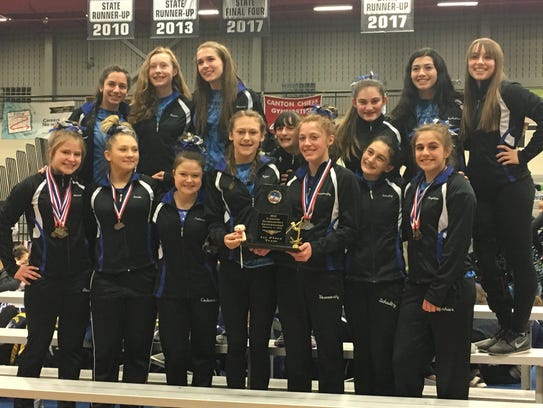 Farmington United again showed its floor exercise prowess