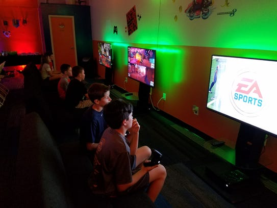 AFC Gaming Center in Mount Laurel opened in June. It
