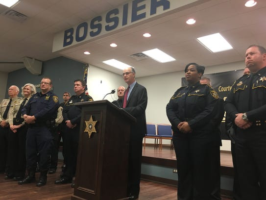 Bossier Sheriff Julian Whittington discusses Bossier