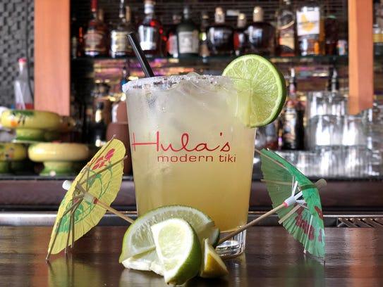 Get two-for-one Lilikoi Margaritas on National Margarita Day at Hula's Modern Tiki.