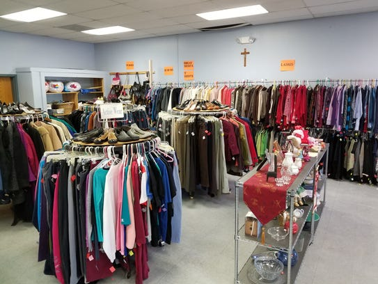 One More Time Thrift Shop in Highland offers  clothing,