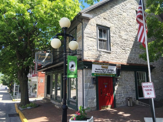Flannery's on the Square, 5 N. Main Street in Mercersburg,