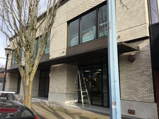 Renovation work at 260 Liberty St. NE in Salem, Oregon,