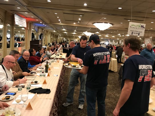 Morristown firefighters dish out to judges their version