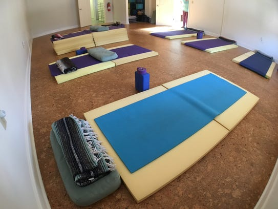 Yoga Gem's new location features two studios and 10