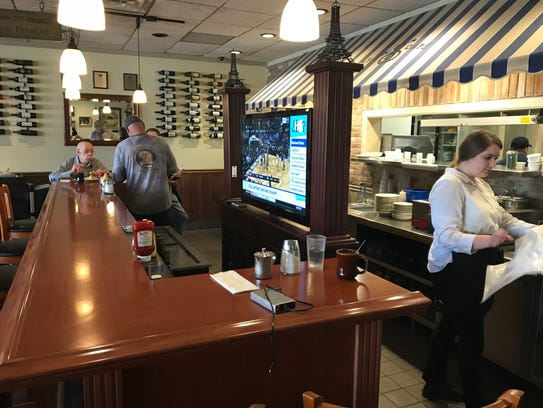 Co-owners Bob and Carol Budish continue to make changes at The Glen Cafe, including replacing the old diner counter with a bar in 2013.