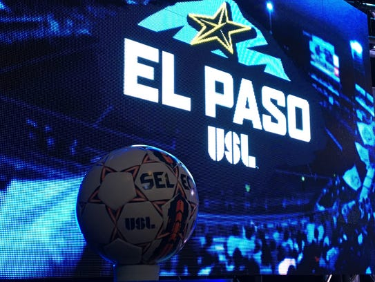 The logo of El Paso's new soccer team, as revealed