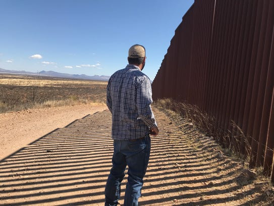 Cochise County Det. Jacob Kartchner stands before the