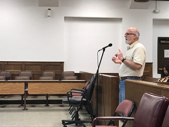 Tommy Cannon addressed the Ouachita Parish Police Jury
