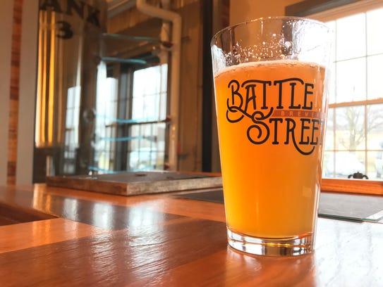 Battle Street Brewery's Blonde Ale.