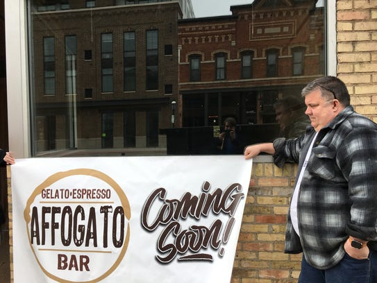 Vince Nardi plans to open Affogato Bar, an espresso