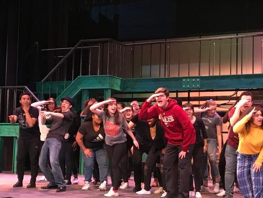 "North Rockland High School presents ""The Pajama Game"";"