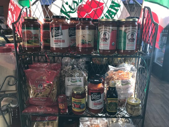 New Calabresella's carries local sauces