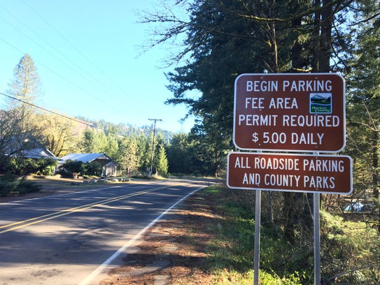 Marion County began charging for parking fees in the