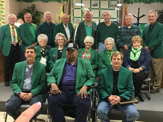 All past Lord High Mayors of the annual Irish Day Celebration
