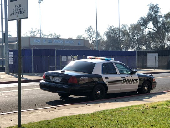 Redwood High School locked down, possible gunman in