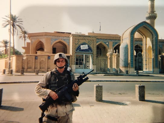 Laura Colbert, a Waupaca native, served in Iraq with