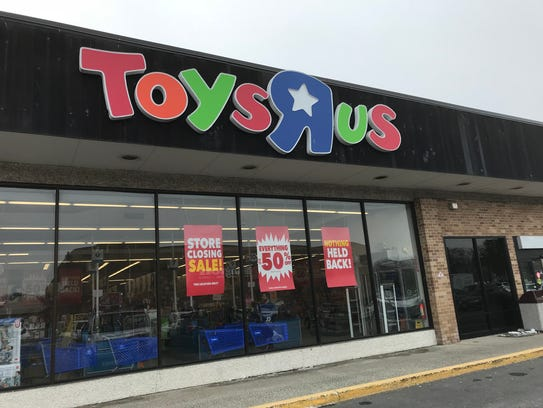 The Toys R Us store in Wayne has been holding a going-out-of-business