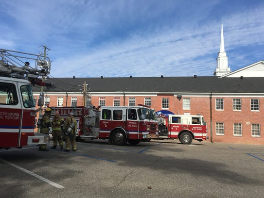 Hattiesburg firefighters responded to an alarm call