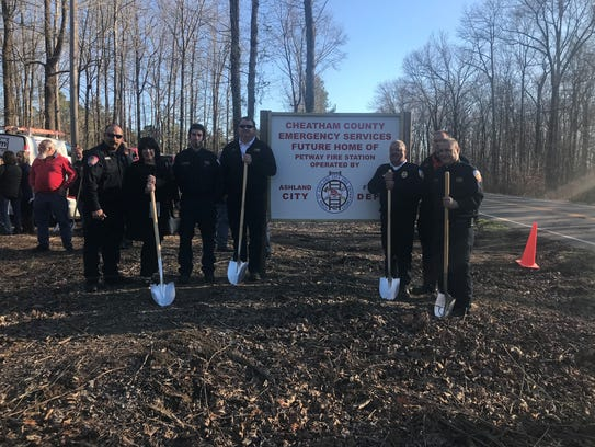 On Wednesday, the official groundbreaking of a new