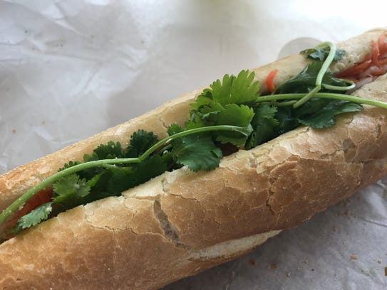 Bành mí sandwiches at the new Bubble Shack on Concord Pike in the Gilpin Plaza cost $5.50 to $5.75. An egg can be added for an additional $1.