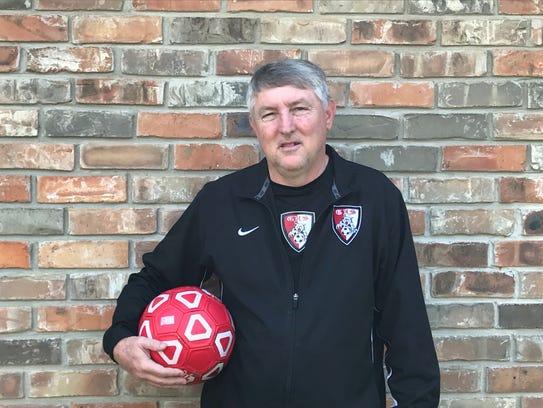 Glenmord coach Roger Richmond is the All-Cenla co-boys