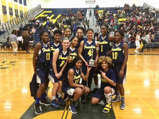 Franklin poses with the Somerset County Tournament