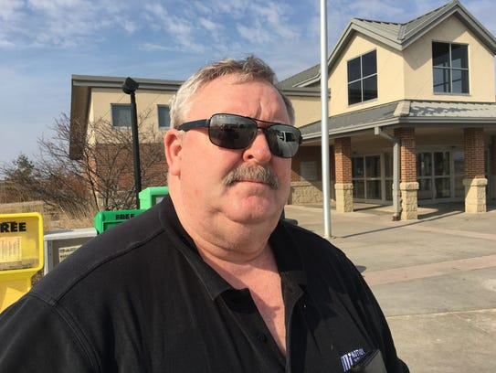 Lonnie Boysen of Harlan,  an industrial salesman who