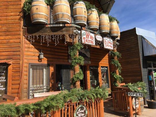 Noisy Water Winery has locations in Ruidoso, Alto Cloudcroft