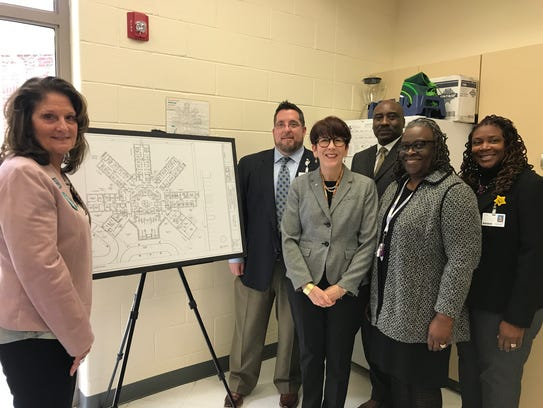 Partners from Eastern Shore Rural Health System and