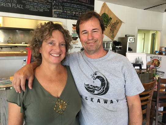 Tre and Amy Gillette own Tuckaway Cafe on Fort Myers