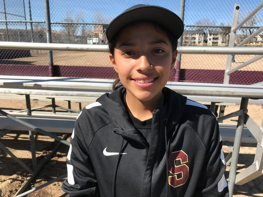 Sparks senior Angie Hurtado is one of the NIAA top